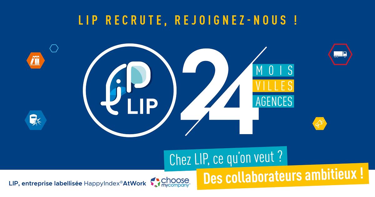 projet 24 agences intérim lip